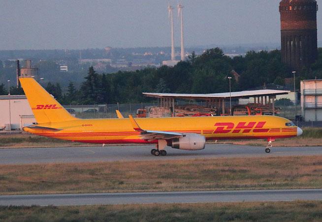 """B 757-223PCF(WL) """" G-DHKN """" DHL Air -1"""