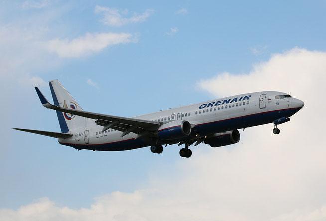 """B 737-8AS (W) """" VQ-BSS """"  Orenair -1"""