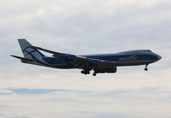 "B 747-8HVF "" VQ-BRJ "" Air Bridge Cargo -1"