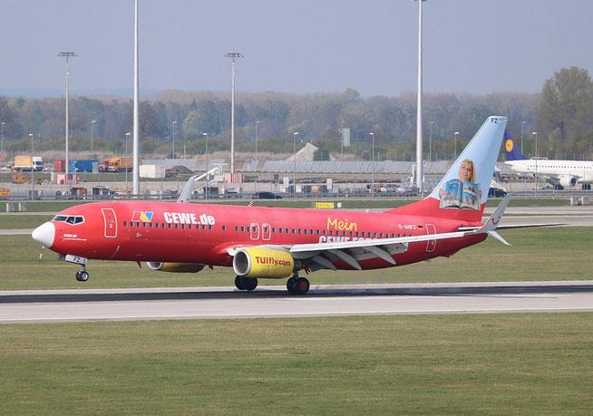 "B 737-8K5/W "" D-AHFZ "" TUIfly -2"