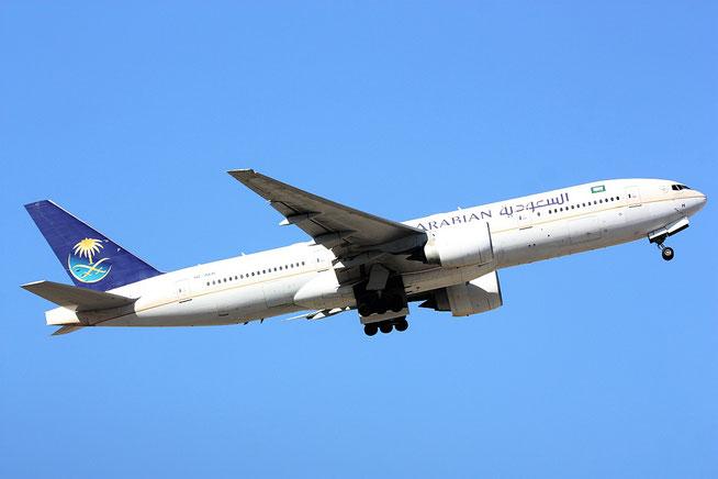 "B 777-268(ER)  "" HZ-AKH ""  Saudi Arabian Airlines -1"