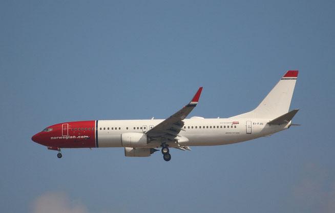 """B 737-8JP  """" EI-FJU """"  Norwegian -1"""