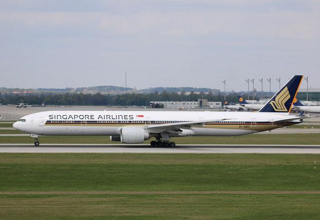 "B 777-312(ER) "" 9V-SWO "" Singapore Airlines -1"