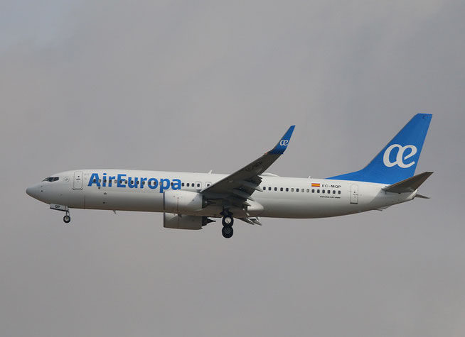 """B 737-85P  """" EC-MQP """"  Air Europa -1"""