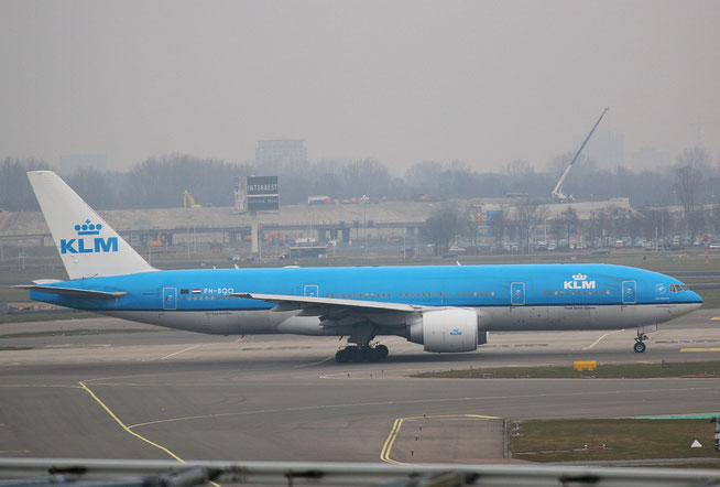 "B 777-206ER  "" PH-BQO ""  KLM Royal Dutch Airlines -1"
