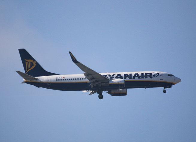 "B 737-8AS (W)  "" EI-DLG ""  Ryanair -1"