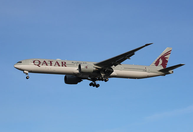 """B 777-3DZ(ER) """" A7-BEB """" Qatar Airways -2"""