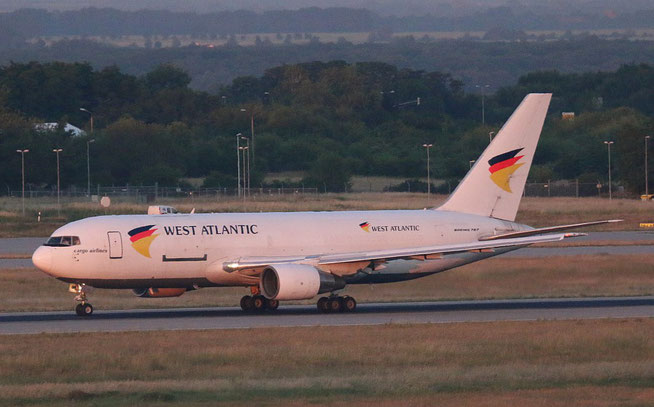 "B 767-232/BDSF  "" SE-RLC ""  West Atlantic Airlines Sweden -2"