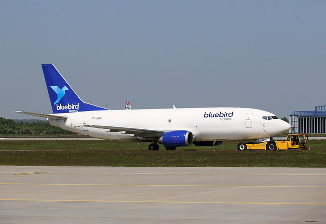 "B 737-36E(QC) "" TF-BBF "" Bluebird Cargo -3"