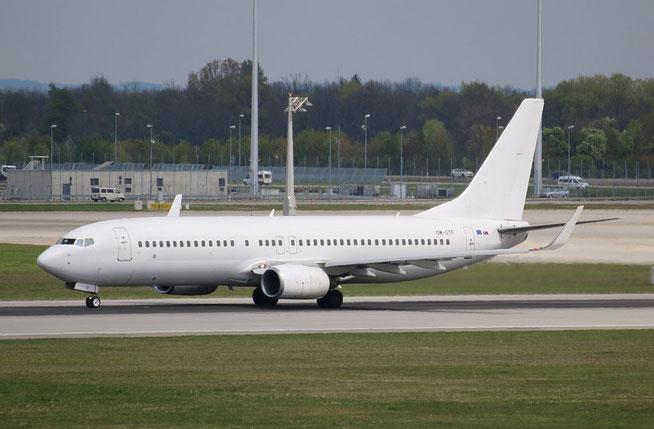 """B 737-86J/W  """" OM-GTF """" Go2Sky -1"""