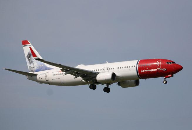 """B 737-8JP  """" EI-FHT """"  Norwegian -2"""