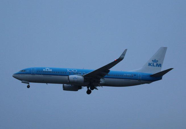 """B 737-8K2/W """" PH-BXH """" KLM -2"""