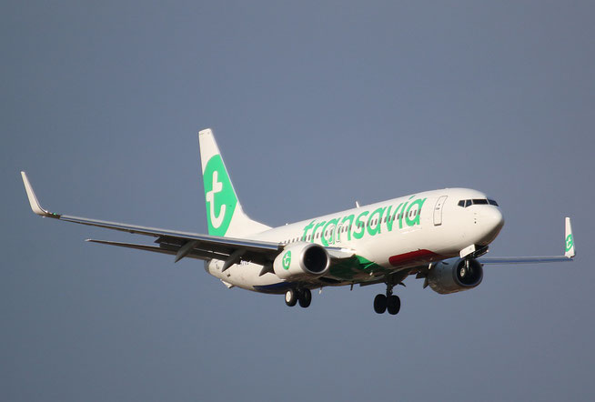 """B 737-8K2/W  """" F-HTVB """" Transavia France -1"""
