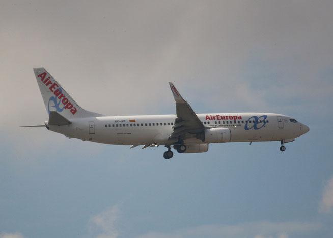 "B 737-85P  "" EC-JHL ""  Air Europa -1"