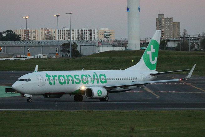 """B 737-84P/W  """" F-GZHS """" Transavia France -2"""
