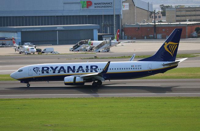 """B 737-8AS (W)  """" EI-EFC """"  Ryanair -1"""