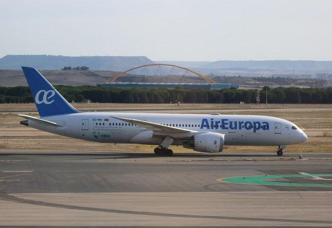 "B 787-8  "" EC-MIG ""  Air Europa -3"