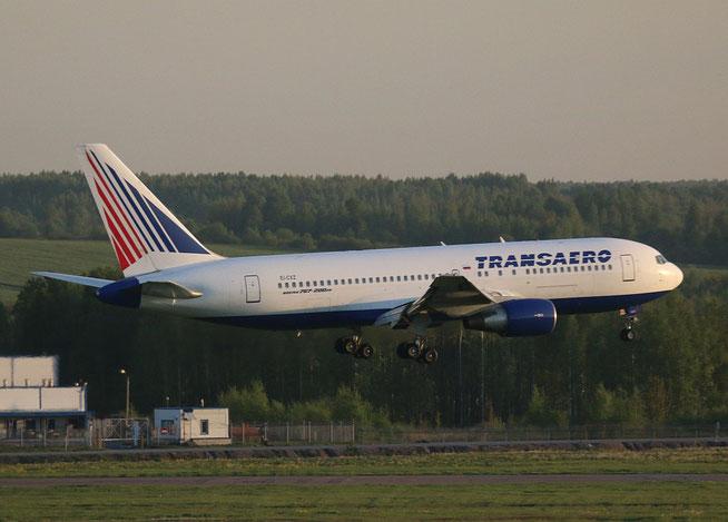 """B-767-216ER  """" EI-CXZ """"  Transaero Airlines -2"""