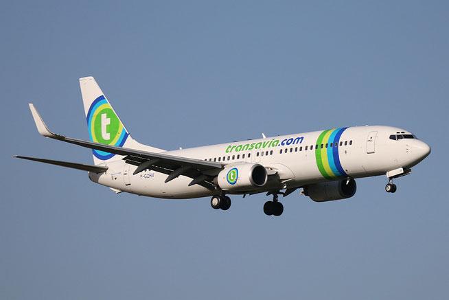 """B 737-85H/W  """" F-GZHV """" Transavia France -2"""