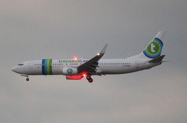 """B 737-8K2/W  """" F-GZHM """" Transavia France -1"""