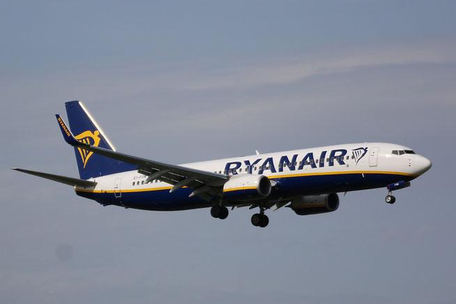 "B 737-8AS (W)  "" EI-FON ""  Ryanair -1"