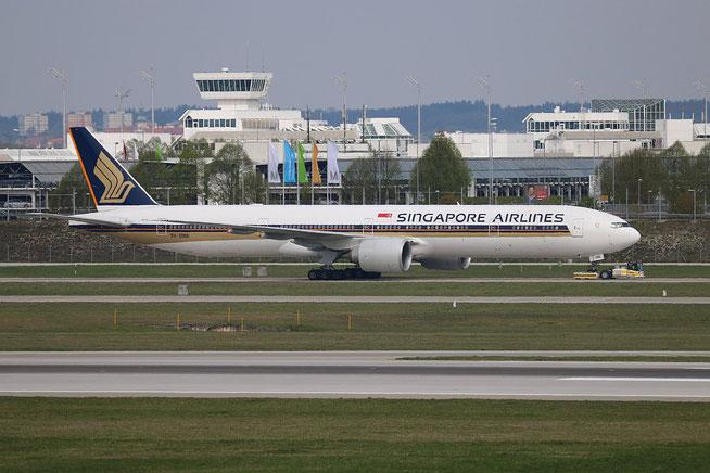 """B 777-312(ER) """" 9V-SWA """" Singapore Airlines -1"""