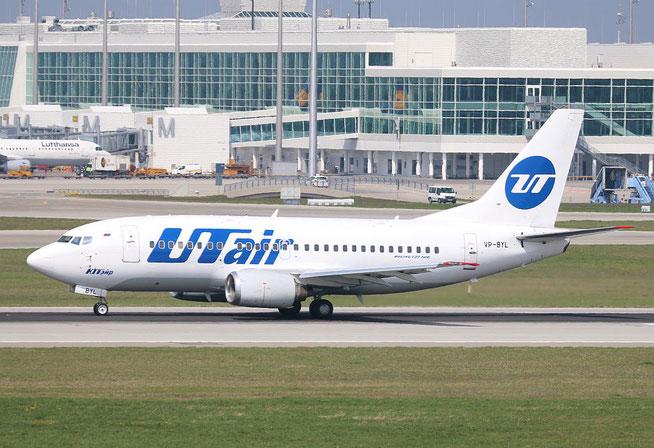 """B 737-524 """" VP-BYL """" UTair -1"""