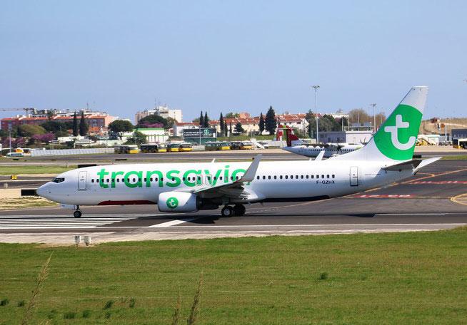 "B 737-8K2  "" F-GZHX "" Transavia France -1"
