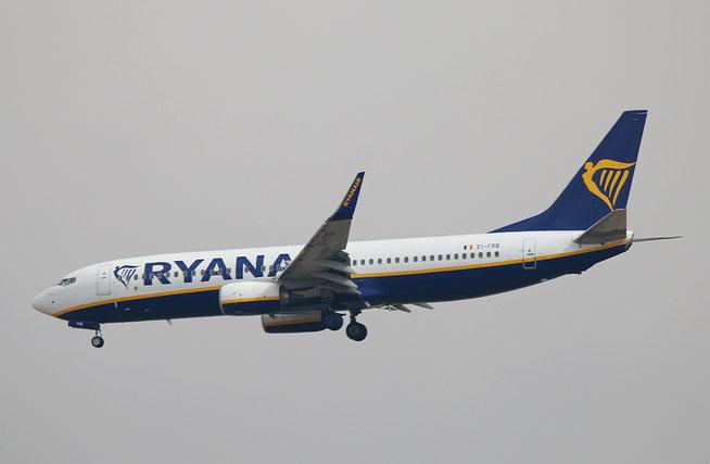 """B 737-8AS (W)  """" EI-FRB """"  Ryanair -1"""