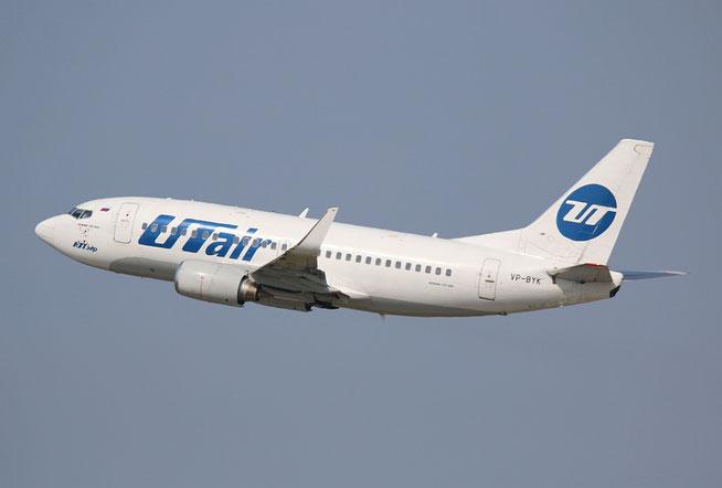 "B 737-524 "" VP-BYM "" UTair -1"