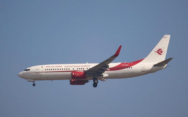 """B 737-8D6/WL  """" 7T-VKD """" Air Algerie -1"""