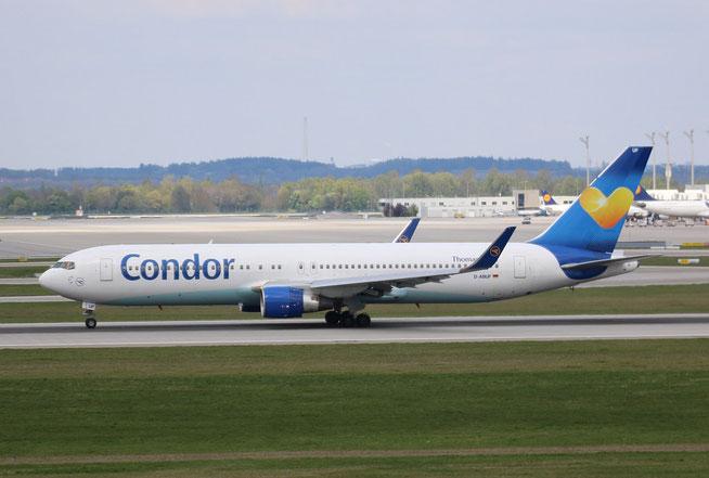 "B 767-330ER  "" D-ABUF "" Condor -2"