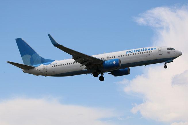 "B 737-8LJ/W "" VQ-BWH ""  Pobeda -1"