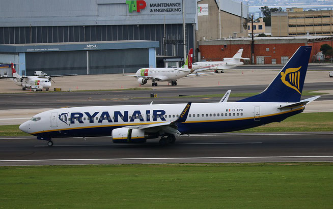 "B 737-8AS/W  ""  EI-EPB ""  Ryanair -1"