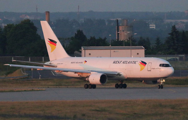 "B 767-232/BDSF  "" SE-RLC ""  West Atlantic Airlines Sweden -1"