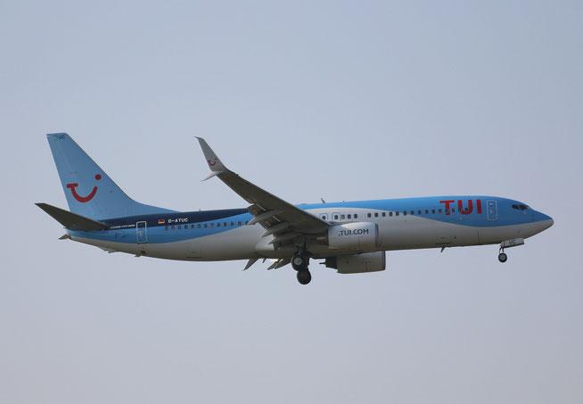 "B 737-8K5/W  "" D-ATUC "" TUIfly -1"