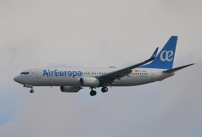"""B 737-85P  """" EC-MPS """"  Air Europa -1"""