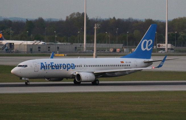 """B 737-85P/W """" EC-LPR """"  Air Europa -5"""