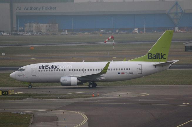 """B 737-36Q """" YL-BBX """" Air Baltic -1"""