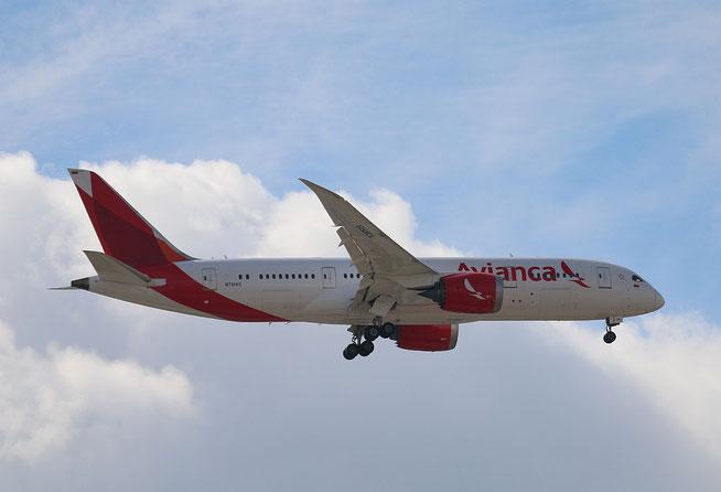 """B 787-8  """" N781AV """"  Avianca -2"""
