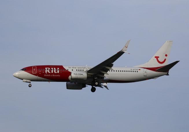 """B 737-8K5/W  """" D-ATUZ """" TUIfly -3"""