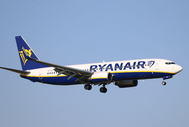 """B 737-8AS (W)  """" EI-DYY """"  Ryanair -1"""
