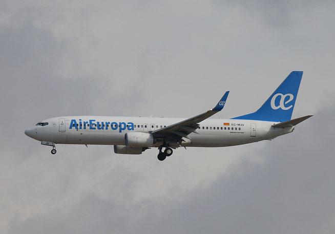 """B 737-85P  """" EC-MJU """"  Air Europa -1"""