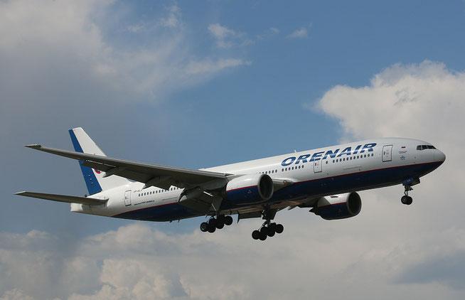 """B 777-2Q8ER  """" VP-BLA """"  Orenair -1"""