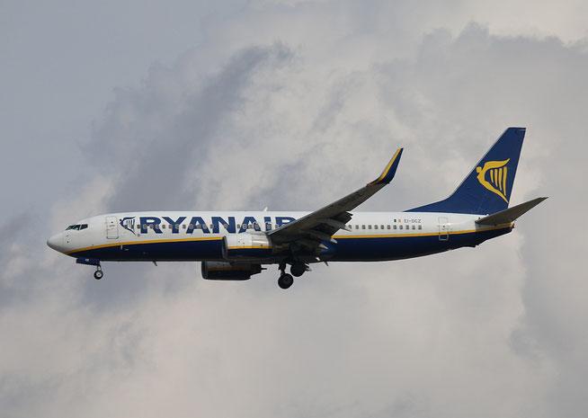 "B 737-8AS (W)  "" EI-DCZ ""  Ryanair -1"