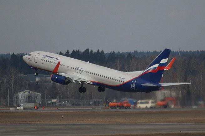 "B 737-8LJ/W "" VQ-BWF ""  Aeroflot -1"