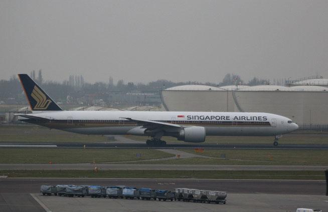 """B 777-312(ER) """" 9V-SWS """" Singapore Airlines -1"""