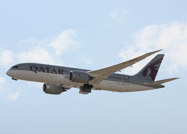 """B 787-8  """" A7-BCQ """" Qatar Airways -2"""