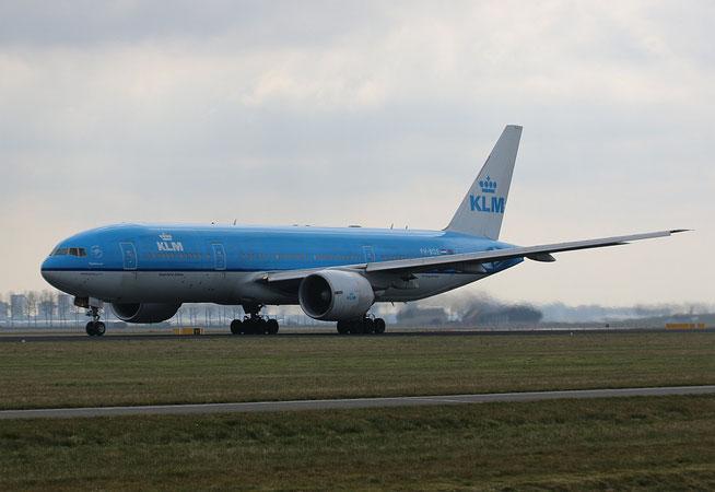 """B 777-206ER  """" PH-BQE """"  KLM Royal Dutch Airlines -1"""
