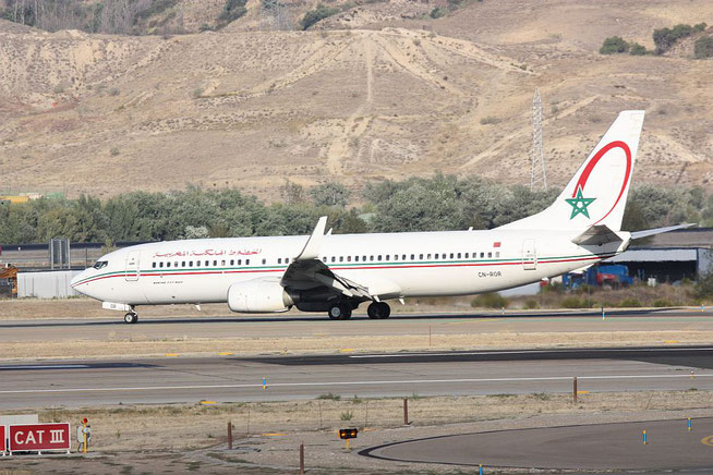 "B 737-8B6/W  "" CN-ROR "" Royal Air Maroc -1"